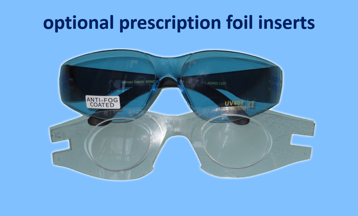 Eliminate Fit Over Sunglasses! Prescription sport glasses instantly with the IC Sport Eye wear Astralon™ foil prescription insert.