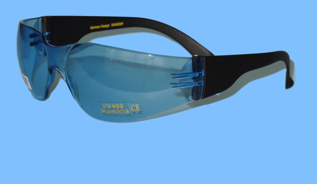 Blue Sport Glasses