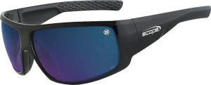 C-Max coated Smoke Lens, Hard Coated Blue Mirror and Polarised Maverick-970GBM