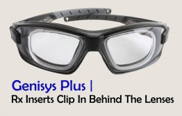 Motorbike Goggles with optional prescription lens insert