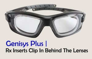 Motorbike Goggles with optional prescription lens insert