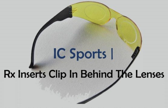 Prescription Inserts Clip Behind Lens IC Sports 3