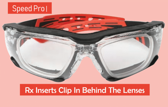 Prescription Inserts Clip Behind Lens Speed Pro 2