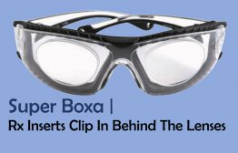 Prescription Inserts Clip Behind Lens Super Boxa 3