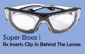 Prescription Inserts Clip Behind Lens Super Boxa 3