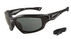 hard-coated polarized sports sunglasses with 100% UV protection polarised