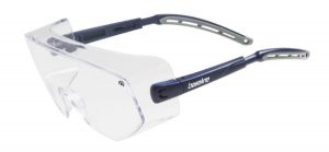 designed to fit over prescription glasses clear