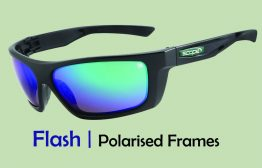 fishing glasses with polarised lenses