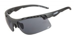 Lightweight Sunglasses | Striker black smoke