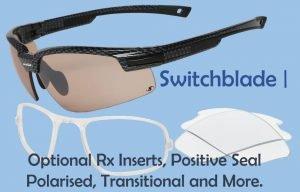 Photochromic sunglasses - prescription | Switch Blade