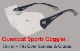 skiing fitover glasses