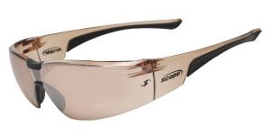 sport sunglasses with Rubber nose bridge and temples offer a pressure free fit Boxa-Plus-105E