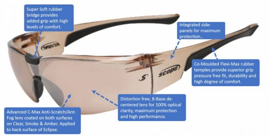 sport sunglasses with smart features boxa plus 2