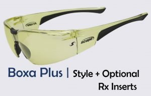 Prescription Sport Glasses with Optional Rxable Lens Inserts