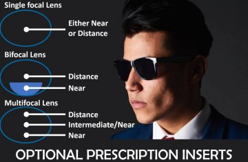 sunglasses with optical prescriptions