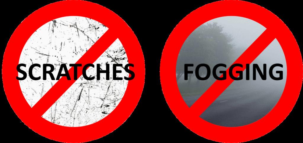 No Scratch Fog sport sunglasses