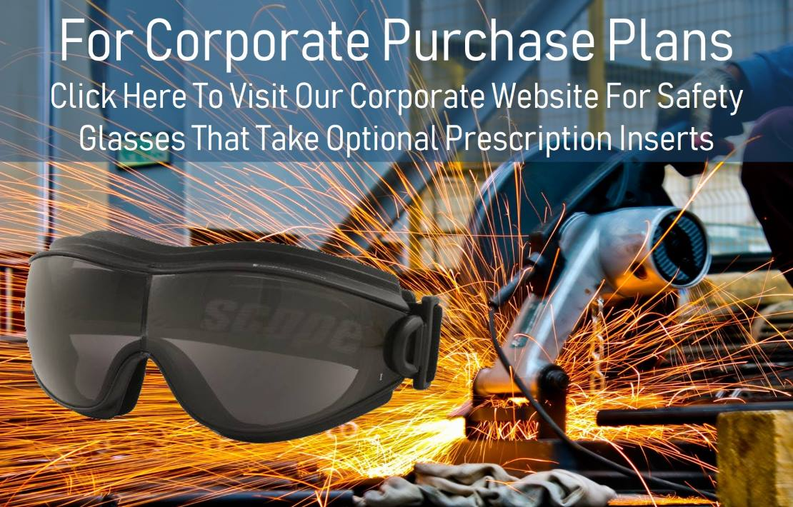 corporate plans Rx-able safety glasses with certified protection