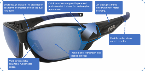 prescription sports sunglasses genisys
